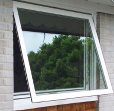 Bertha Impact vinyl awning window