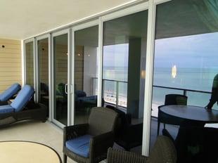 impact door on coastal home